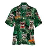 Tropical Summer Aloha Hawaiian Shirt Raccoon HC-HG02