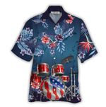 Tropical Summer Aloha Hawaiian Shirt Drum HC-NQ01