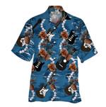 Tropical Summer Aloha Hawaiian Shirt Guitar HC-NH01