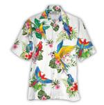 Tropical Summer Aloha Hawaiian Shirt Parrots HC-NQ03