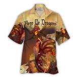 Tropical Summer Aloha Hawaiian Shirt Western Dragon NH-NQ07