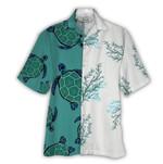Tropical Summer Aloha Hawaiian Shirt Turtle NH-NQ08