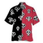 Tropical Summer Aloha Hawaiian Shirt Skull NH-NQ10