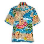 Tropical Summer Aloha Hawaiian Shirt Retriever NH-NQ11
