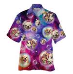 Tropical Summer Aloha Hawaiian Shirt Chihuahua HC-NH02