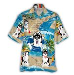 Tropical Summer Aloha Hawaiian Shirt Husky HC-NQ05