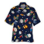Tropical Summer Aloha Hawaiian Shirt Drum HC-NQ06