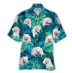 Tropical Summer Aloha Hawaiian Shirt Pomeranian HC-NQ07
