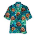 Tropical Summer Aloha Hawaiian Shirt Poodle HC-NQ08