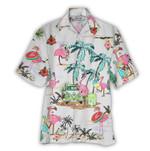 Tropical Summer Aloha Hawaiian Shirt Flamingo NH-NQ14