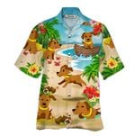 Tropical Summer Aloha Hawaiian Shirt Dachshund NH-HG04