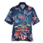 Tropical Summer Aloha Hawaiian Shirt Drum HC-NQ11