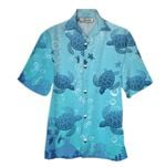 Tropical Summer Aloha Hawaiian Shirt Turtle NH-HG07