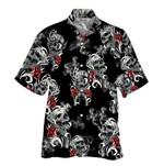 Tropical Summer Aloha Hawaiian Shirt Skull NH-NH02