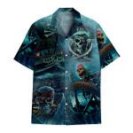 Tropical Summer Aloha Hawaiian Shirt Skull DN-HG28