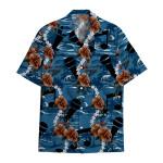Tropical Summer Aloha Hawaiian Shirt Microphone HC-HG03