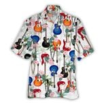 Tropical Summer Aloha Hawaiian Shirt Guitar HC-NQ13