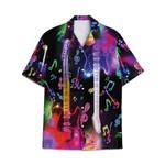Tropical Summer Aloha Hawaiian Shirt Guitar HC-NQ14