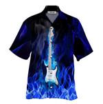 Tropical Summer Aloha Hawaiian Shirt Guitar HC-NH05