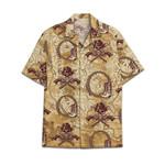 Tropical Summer Aloha Hawaiian Shirt Cowboy Skull HC-NQ15