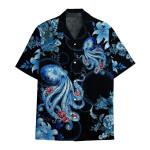 Tropical Summer Aloha Hawaiian Shirt Octopus DN-HG29