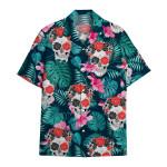 Tropical Summer Aloha Hawaiian Shirt Skull HC-HG04