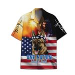 Tropical Summer Aloha Hawaiian Shirt Patriotic HC-NQ17