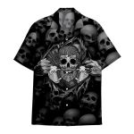 Tropical Summer Aloha Hawaiian Shirt Skull HC-HG06