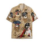 Tropical Summer Aloha Hawaiian Shirt Bulldog HC-NQ18