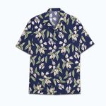 Tropical Summer Aloha Hawaiian Shirt Magnum Pi HH-NQ16