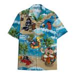 Tropical Summer Aloha Hawaiian Shirt Pirate Beer HC-HG07