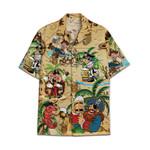 Tropical Summer Aloha Hawaiian Shirt Pirate Beer HC-NQ19
