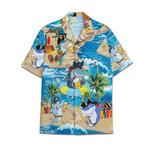 Tropical Summer Aloha Hawaiian Shirt Shark Beer HC-NQ20