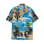 Tropical Summer Aloha Hawaiian Shirt Motorcycle Skull HC-NQ21