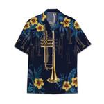 Tropical Summer Aloha Hawaiian Shirt Trumpet HC-NQ23