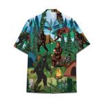 Tropical Summer Aloha Hawaiian Shirt Bigfoot DN-NQ05