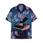 Tropical Summer Aloha Hawaiian Shirt Piano HC-NQ26