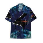 Tropical Summer Aloha Hawaiian Shirt Piano HC-NQ27