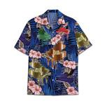 Tropical Summer Aloha Hawaiian Shirt Piano HC-NQ28