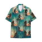 Tropical Summer Aloha Hawaiian Shirt Bigfoot DN-NH05