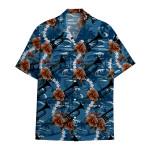 Tropical Summer Aloha Hawaiian Shirt Trumpet HC-HG08