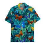 Tropical Summer Aloha Hawaiian Shirt Butterfly HC-HG10