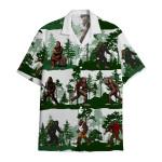 Tropical Summer Aloha Hawaiian Shirt Bigfoot DN-HG39