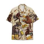 Tropical Summer Aloha Cool Bigfoot Hawaiian Shirt DN-NQ06