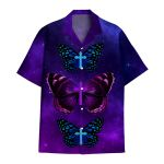 Tropical Summer Aloha Hawaiian Shirt Butterfly HC-HG11