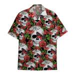 Tropical Summer Aloha Hawaiian Shirt Skull HC-HG12