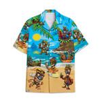 Tropical Summer Aloha Hawaiian Shirt Hawaiian Tiki AV-NH05