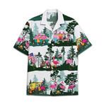 Tropical Summer Aloha Hawaiian Shirt Flamingo Camping HC-NQ32