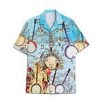 Tropical Summer Aloha Hawaiian Shirt Banjo AV-NH07