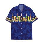 Tropical Summer Aloha Hawaiian Shirt Beer AV-NQ05